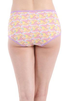 Womens Floral Hipsters