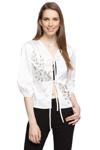 MADAME -  Off WhiteT-Shirts - Main
