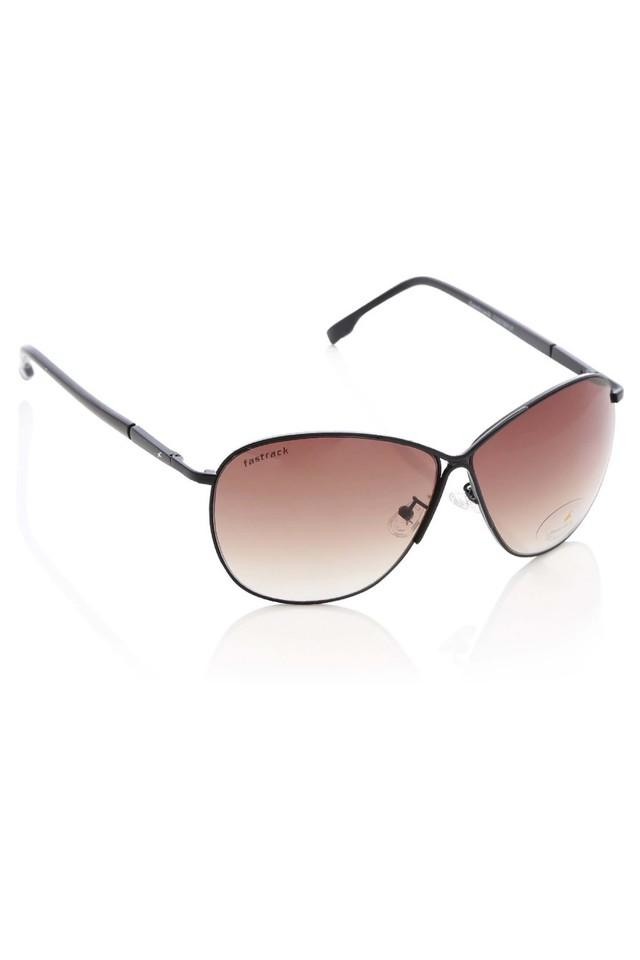 Womens Aviator Polycarbonate Sunglasses