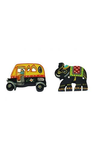 Fridge Magnets Hand Painted Fridge Chumbak Pack Of 2
