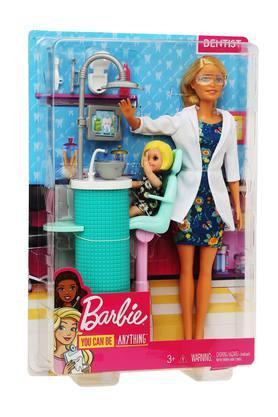 Unisex Dentist Barbie Doll Play Set