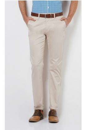 Mens 5 Pocket Exrtra Slim Fit Solid Chinos