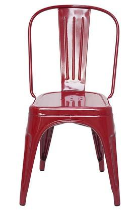 Maroon Stylo Chairs Set of 4
