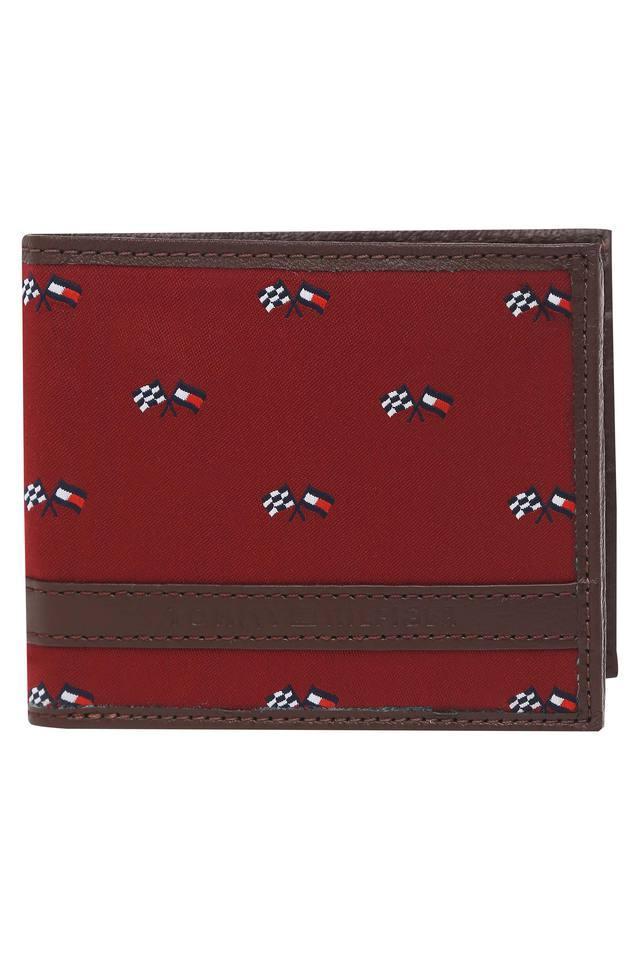 Mens Canvas 1 Fold Wallet