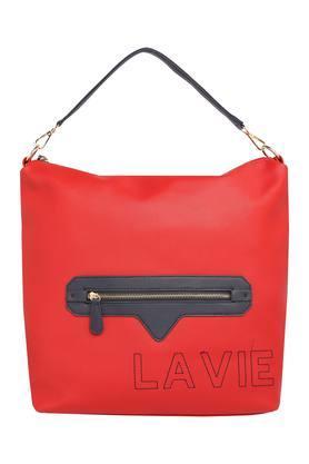 Womens Zipper Closure Hobo Handbag