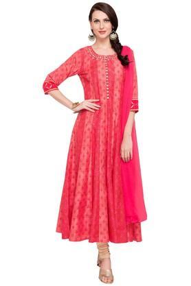 Buy Salwar Suits Churidar Designs Online Shoppers Stop
