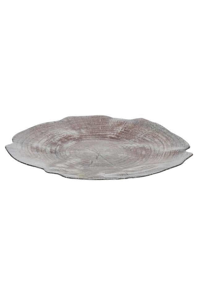 Woodlock Self Pattern Textured Platter