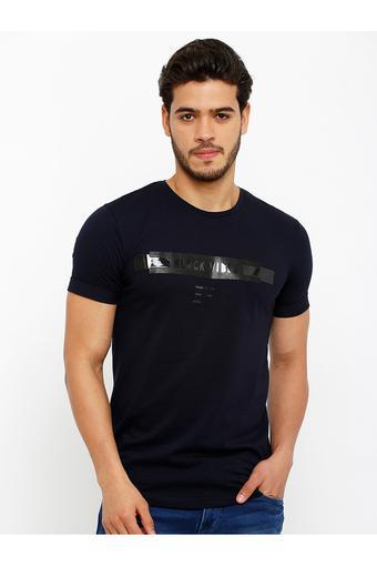 REX STRAUT JEANS -  NavyT-shirts - Main