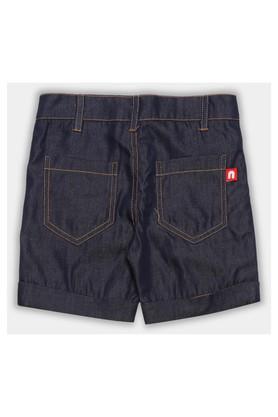 Boys Round Neck Stripe Shorts and Tee Set