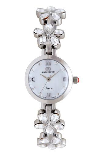 Womens Round Dial Analogue Watch - G2119-11