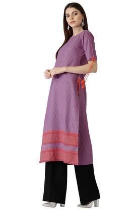 Womens Cotton Printed Kurta