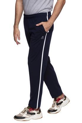 Mens 2 Pocket Solid Track Pants