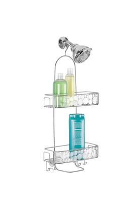 Metallic Stackable Shower Caddy