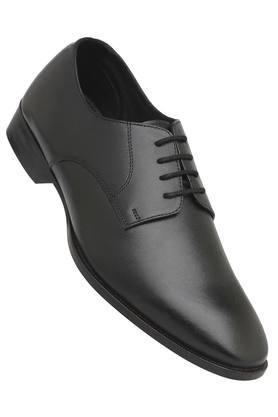 FRANCO LEONE Mens Leather Lace Up Derbys - 204584824_9212