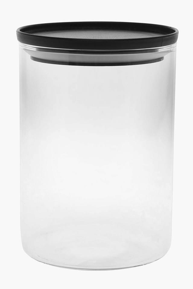 Round Transparent Container with Lid - 700ml