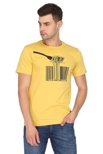 STOP -  Yellow T-shirts - Main