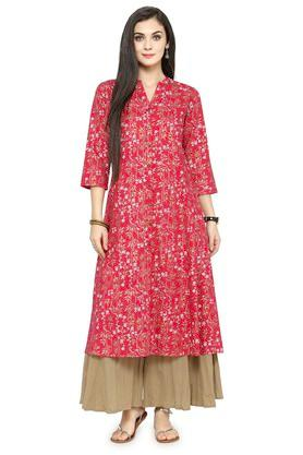 VARANGA Women Floral Print Kurta And Pant Set