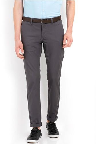 Mens 4 Pocket Slub Chinos