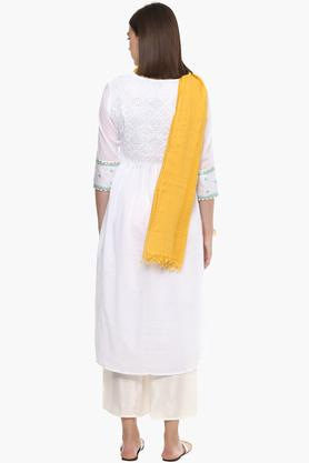 Womens Self Pattern Dupatta