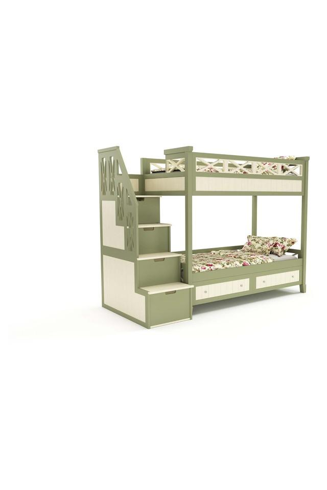 Green Bunk Bed