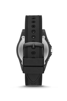 Mens Drexler Black Dial Silicon Hybrid Smart Watch - AXT1001