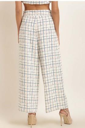 Womens Check Pants
