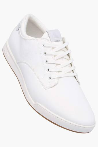 Buy ALDO Mens Leather Lace Up Sneakers