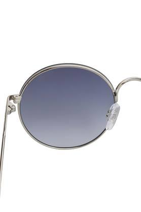 Mens Full Rim Round Sunglasses