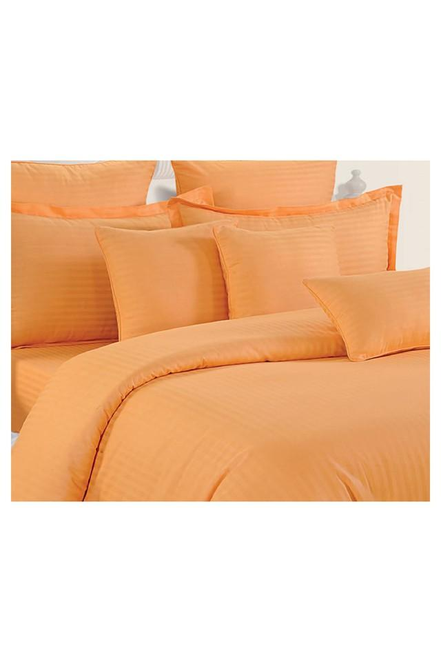 Stripe Single Bed Sheet and 1 Pillow Cover Set