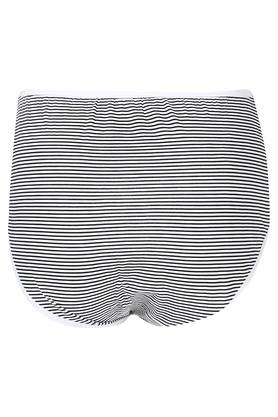 Women Stripe Solid and Printed Full Brief Pack of 5