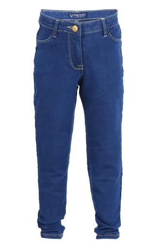 Girls 4 Pocket Rinse Wash Jeans
