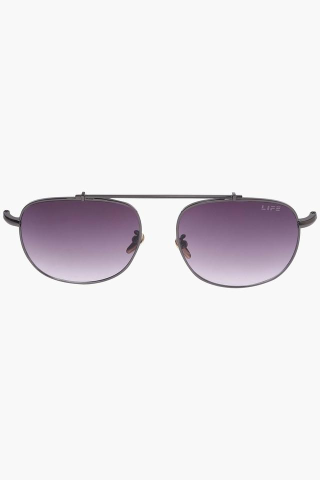 Unisex Non Polarized Aviator Sunglasses LIO27C20