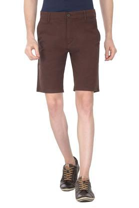 Mens 4 Pocket Solid Shorts (502)