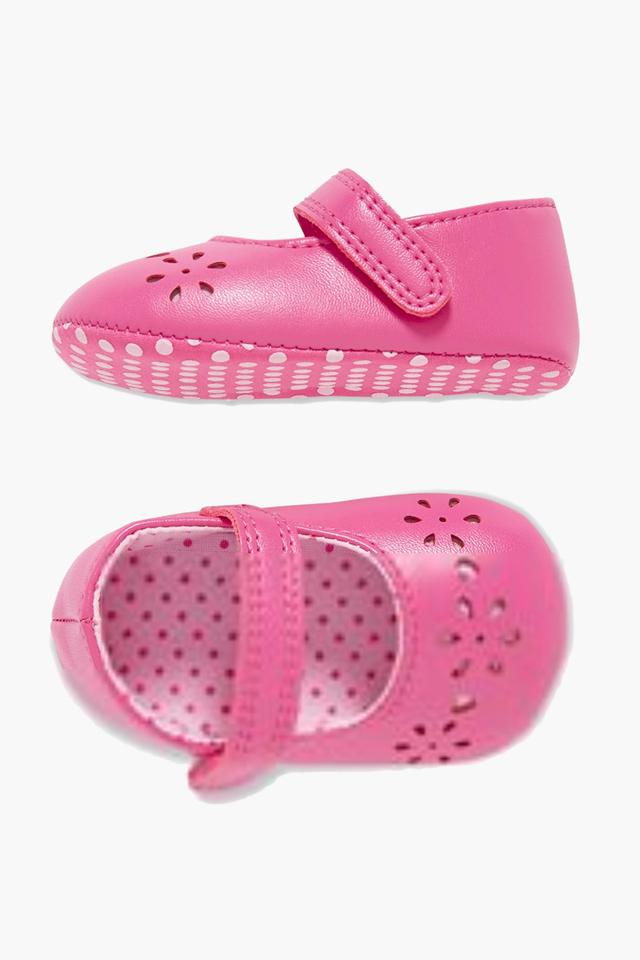 Girls Casual Velcro Closure Ballerinas