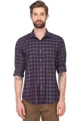 TRUE BLUE -  PurpleCasual Shirts - Main