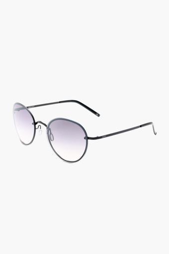 Womens Round Polycarbonate Sunglasses - 2129 C1 S