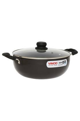 Non Stick Kadai With Glass Lid