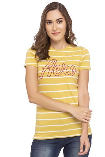 AEROPOSTALE -  YellowT-Shirts - Main