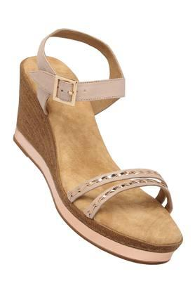 15928785c030 X INC.5 Womens Casual Wear Buckle Closure Wedges