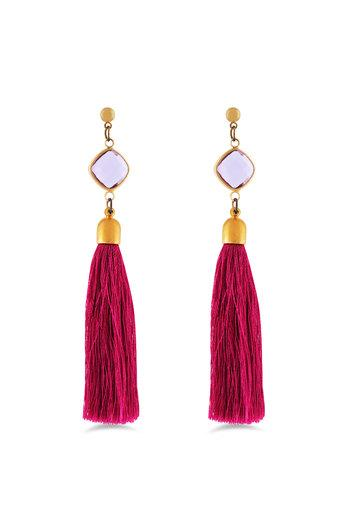 Womens Gold Plated Earring