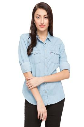 Womens Collared Assorted Shirt