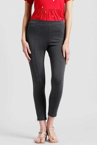 ZINK LONDON -  CharcoalJeans & Leggings - Main