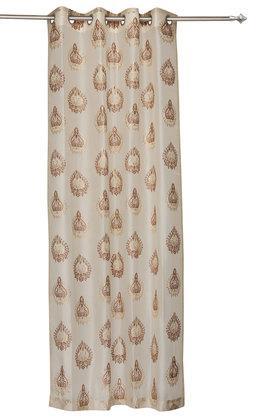 IVY - BrownDoor Curtains - Main