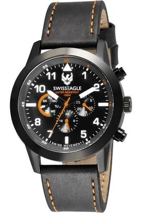 SWISS EAGLE Mens Black Dial Chronograph Watch - 204277070_9999