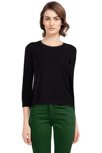 ELLIZA DONATEIN -  BlackT-Shirts - Main