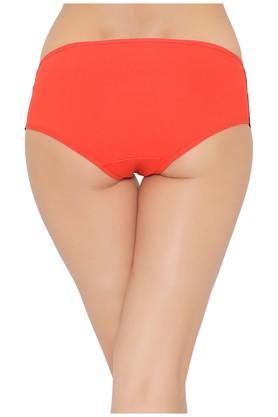 Womens Mid Waist Lace Boy Shorts