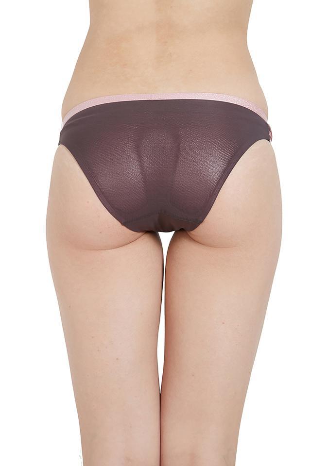 Womens Slub Bikini Briefs