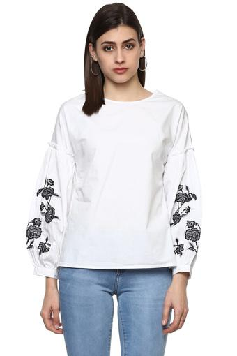 RS BY ROCKY STAR -  WhiteTops & Tees - Main