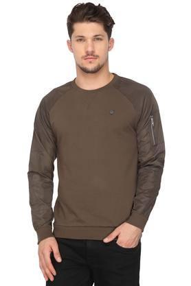 VETTORIO FRATINIMens Round Neck Printed Sweatshirt