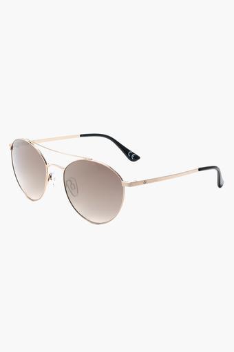 Womens Oval Polycarbonate Sunglasses - 2149 C1 S